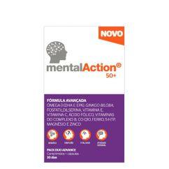 MentalAction 50+ Multivitamínico Comprimidos+Cápsulas