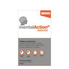 MentalAction Adultos Multivitamínico Comprimidos+Cápsulas