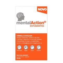 MentalAction Estudantes Comprimidos + Cápsulas 30+30unid.