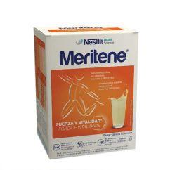 Meritene Força e Vitalidade Baunilha Bebida Solúvel em Pó 15unid.