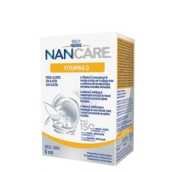 Nan Care Vitamina D Suplemento Gotas 6x5ml