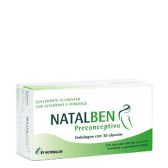 Natalben Preconcetivo Suplemento Cápsulas 30unid.