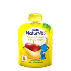 Nestlé Naturnes Pacotinho Fruta Banana-Maçã 6M+ 90gr