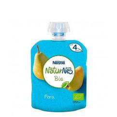 Nestlé Naturnes Bio Pacotinho Fruta Pêra 4M+ 90gr