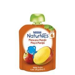 Nestle Naturnes Pacotinho Fruta Maçã-Manga 6M+ 90gr