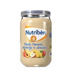 Nutribén Boião Maçã, Banana, Pêssego e Abacaxi 235g