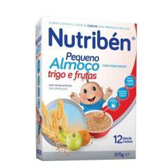 Nutribén Pequeno Almoço Flocos de Trigo e Frutas 12M 375g