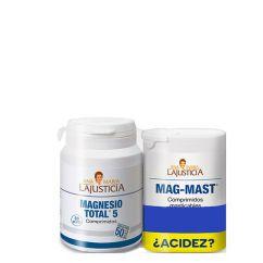Ana María Lajusticia Pack Relaxamento Muscular, Cansaço e Fadiga Suplemento Comprimidos