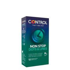 Control Non Stop Dots & Lines Preservativos 12unid.