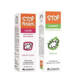 Stop Piolhos Pack Loção Cabelos Longos oferta Champô