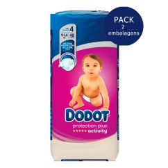 Dodot Activity T4 Pack Fraldas 9-14kg 2x48unid.