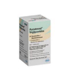 Accutrend Triglicerídeos Tiras Teste 25unid.
