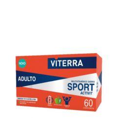Viterra Sport Activit Comprimidos Suplemento Multivitamínico Adulto 60un.
