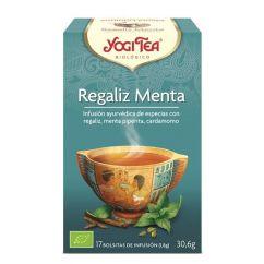 Yogi Tea Alcaçuz Menta Infusão Saquetas 17unid.