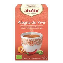 Yogi Tea Alegria de Viver Infusão Saquetas 17unid.