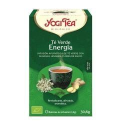 Yogi Tea Chá Verde Energia Infusão Saquetas 17unid.