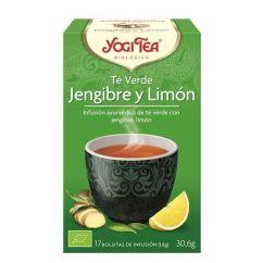Yogi Tea Chá Verde, Gengibre e Limão Infusão Saquetas 17unid.