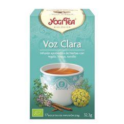 Yogi Tea Voz Clara Infusão Saquetas 17unid.